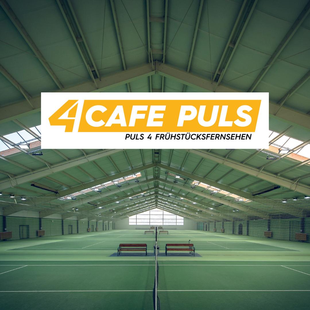 Österreichs Tennishallen am Sand – ÖTR. im Café Puls Talk und ORF Wien Heute